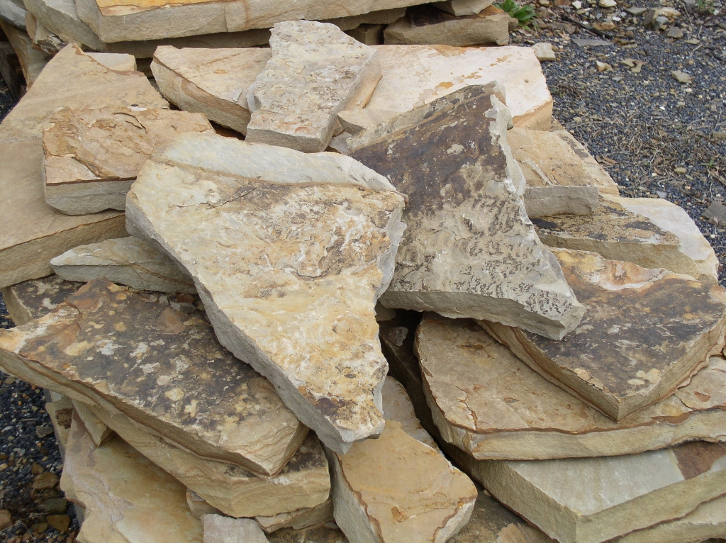 Types Of Sandstone : Stones katy landscaping