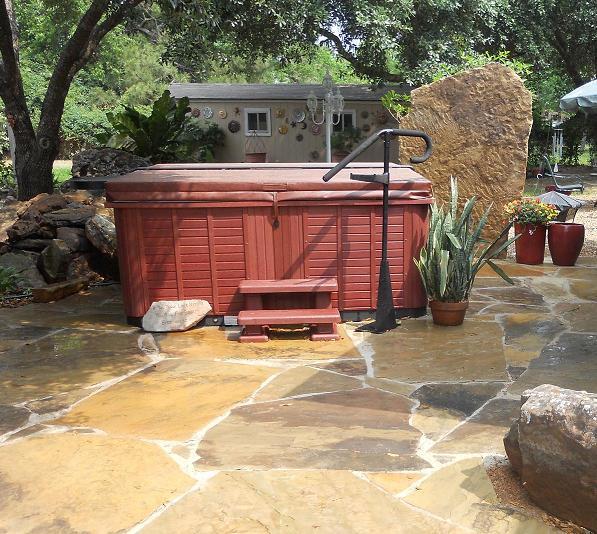 Hot Tub Retreat Katy Landscaping